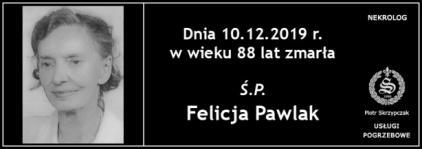Ś.P. Felicja Pawlak