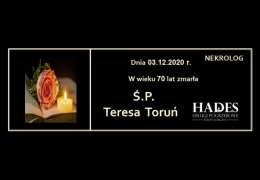 Ś.P. TERESA TORUŃ