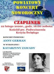2020-02-22 Koncert piosenek Anny German w Czaplinku