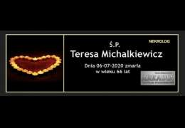 Ś.P. Teresa Michalkiewicz