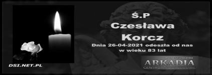 Ś.P. Czesława Korcz