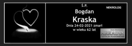 Ś.P. Bogdan Kraska