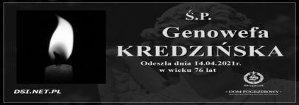 Ś.P. Genowefa Kredzińska