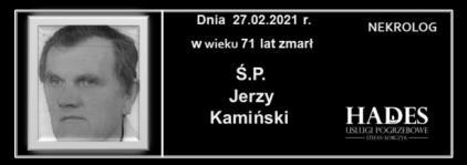 Ś.P. Jerzy Kamiński