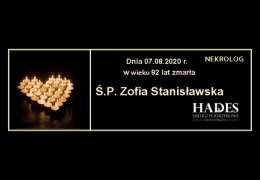 Ś.P. Zofia Stanisławska