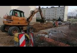 Trwa budowa drogi na Mickiewicza w Drawsku. Wiemy kiedy zakończenie robót