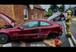 Zderzyły się dwa auta w Siemczynie
