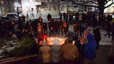 Mieszkańcy Złocieńca pożegnali prezydenta Gdańska