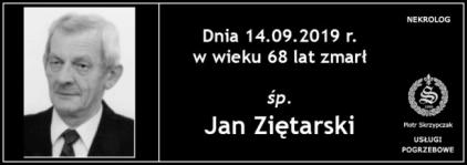 Ś.P. Jan Ziętarski