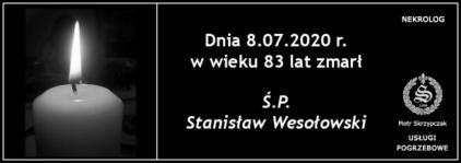 Ś.P. Stanisław Wesołowski