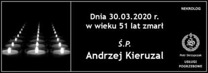 Ś.P. Andrzej Kieruzal