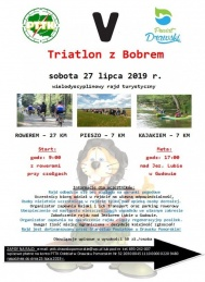 2019-07-27 Triathlon z Bobrem