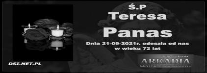 Ś.P. Teresa Panas
