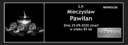 Ś.P. Mieczysław Pawiłan
