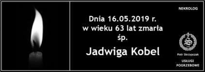 Ś.P. Jadwiga Kobel