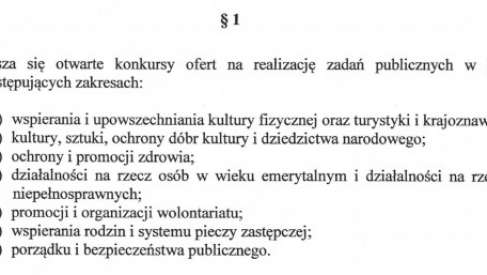 Powiat ogłosił 7 konkursów. Jest 220 000 zł dla NGO