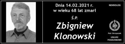 Ś.P. Zbigniew Klonowski