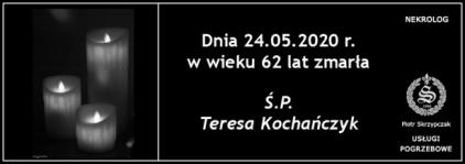 Ś.P. Teresa Kochańczyk