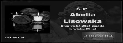 Ś.P. Alodia Lisowska