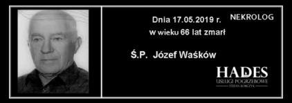 Ś.P. Józef Waśków