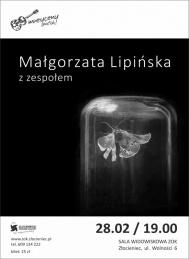 2020-02-28 Małgorzata Lipińska z zespołem