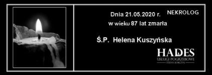 Ś.P. Helena Kuszyńska