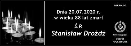 Ś.P. Stanisław Drożdż