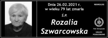 Ś.P. Rozalia Szwarcowska