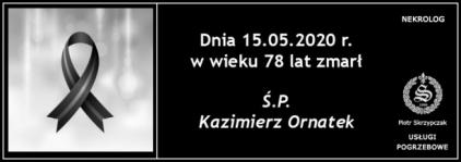 Ś.P. Kazimierz Ornatek