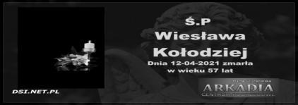 Ś.P. Wiesława Kołodziej