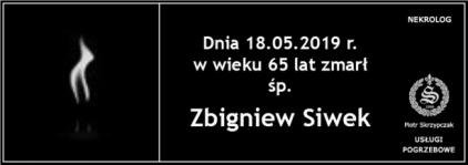 Ś.P. Zbigniew Siwek