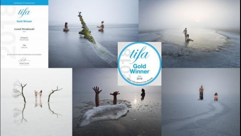 Leszek Paradowski zdobył złoto na Tokyo International Foto Awards 2018