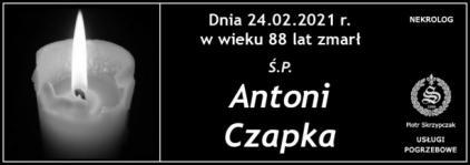 Ś.P. Antoni Czapka