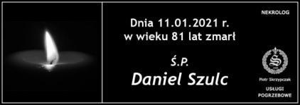Ś.P. Daniel Szulc