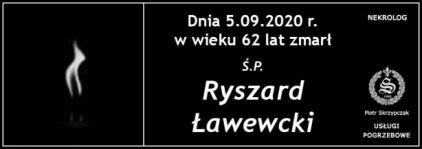Ś.P. Ryszard Ławecki