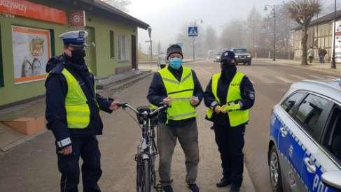 Policjanci dla rowerzystów