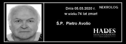Ś.P. Pietro Avolio