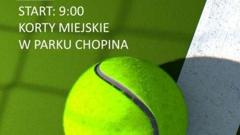 2019-05-01 Turniej Tenisa Ziemnego o Puchar Burmistrza Drawska Pomorskiego