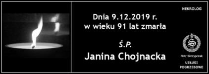 Ś.P. Janina Chojnacka