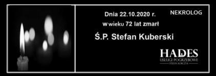 Ś.P. STEFAN KUBERSKI