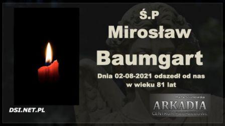 Ś.P. Mirosław Baumgart