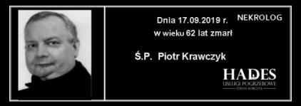 Ś.P. Piotr Krawczyk