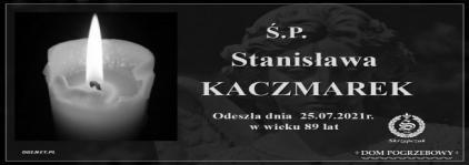 Ś.P. Stanisława Kaczmarek