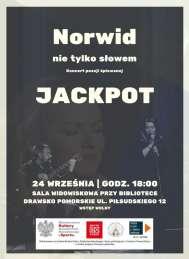 """2021-09-27 JACKPOT koncert """"Norwid - nie tylko słowem"""""""