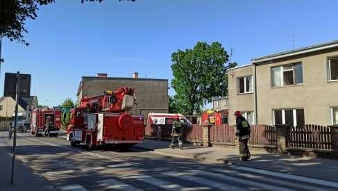 Pożar w Drawsku Pomorskim. Trwa akcja ratunkowa