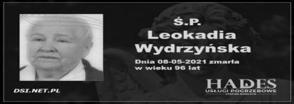 Ś.P. Leokadia Wydrzyńska