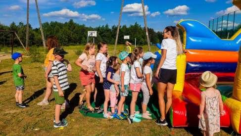 Foto: Czwartek był naprawdę gorącym dniem dla dzieci w Suliszewie