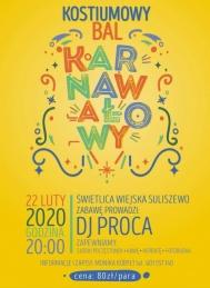 2020-02-22 Bal kostiumowy w Suliszewie