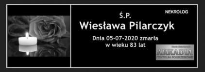 Ś.P. Wiesława Pilarczyk