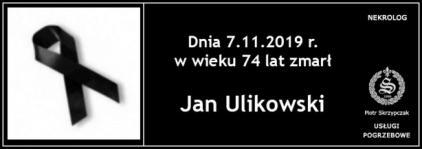 Jan Ulikowski
